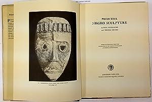 Primitive Negro Sculpture. Pennsylvania. London, Jonathan Cape: Guilllaume, Paul/Munro, Thomas,