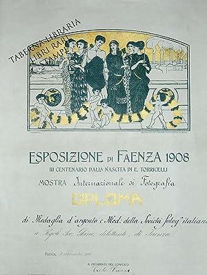 Esposizione di Faenza 1908. III centenario dalla: Nonni Francesco