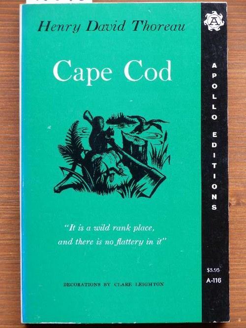 Cape Cod.: Thoreau, Henry David