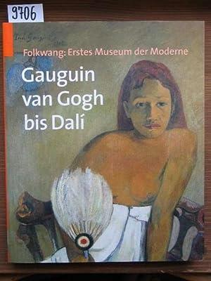 Folkwang: Erstes Museum der Moderne. Gauguin, van