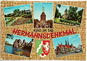 Rund um das Hermannsdenkmal: 32*** Detmold Lemgo