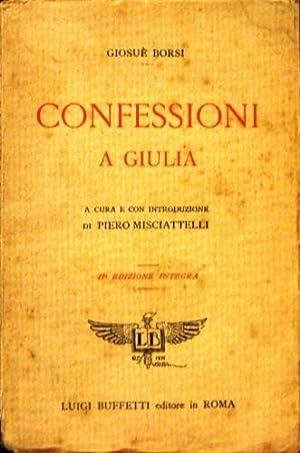 Confessioni a Giulia.: Borsi, Giosuè