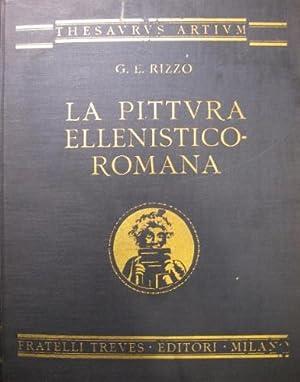 La pittura ellenistico-romana.: Rizzo, G.E.