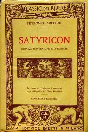 Satyricon.: Petronio Arbitro