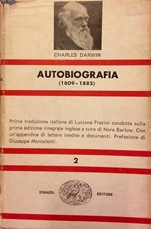 Autobiografia 1809-1882.: Darwin, Charles