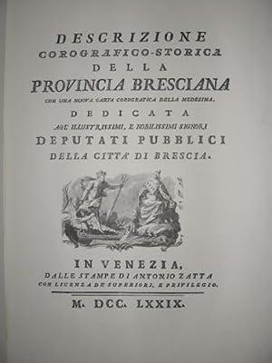 Descrizione corografico-storica della provincia bresciana.