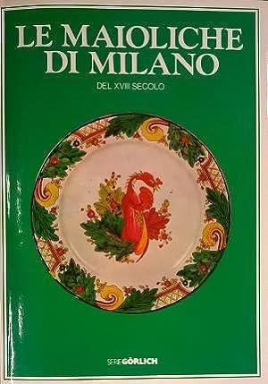 Le maioliche di Milano del XVIII secolo.