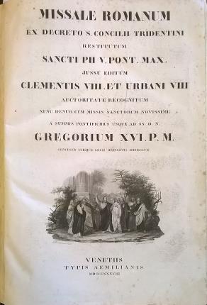 Missale romanum ex decreto S. Concilii Tridentini