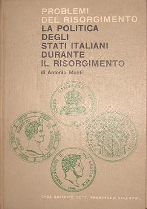 La politica degli Stati italiani durante il: Monti, Antonio