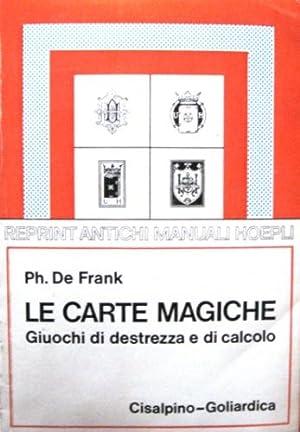 Le carte magiche.: De Frank, Philippe