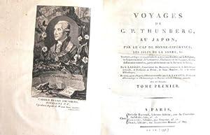 Voyages de C. P. Thunberg, au Japon,: Thunberg, Carl Peter