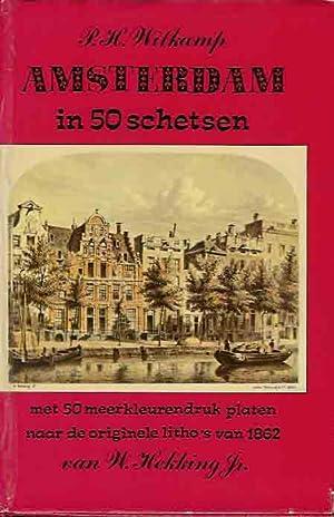 Amsterdam in 50 Schetsen.: Witkamp, P.H.