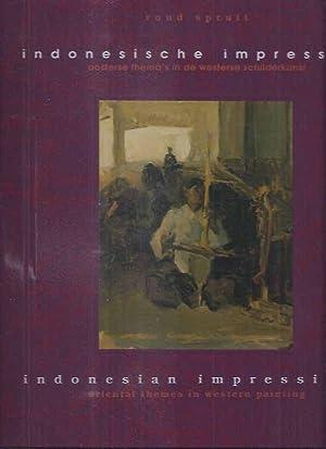 Indonesische Impressies: Oosterse thema's in de westerse: Spruit, Ruud.