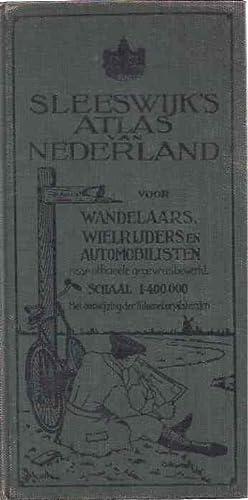 Sleeswijk's Atlas van Nederland voor Wandelaars, wielrijders