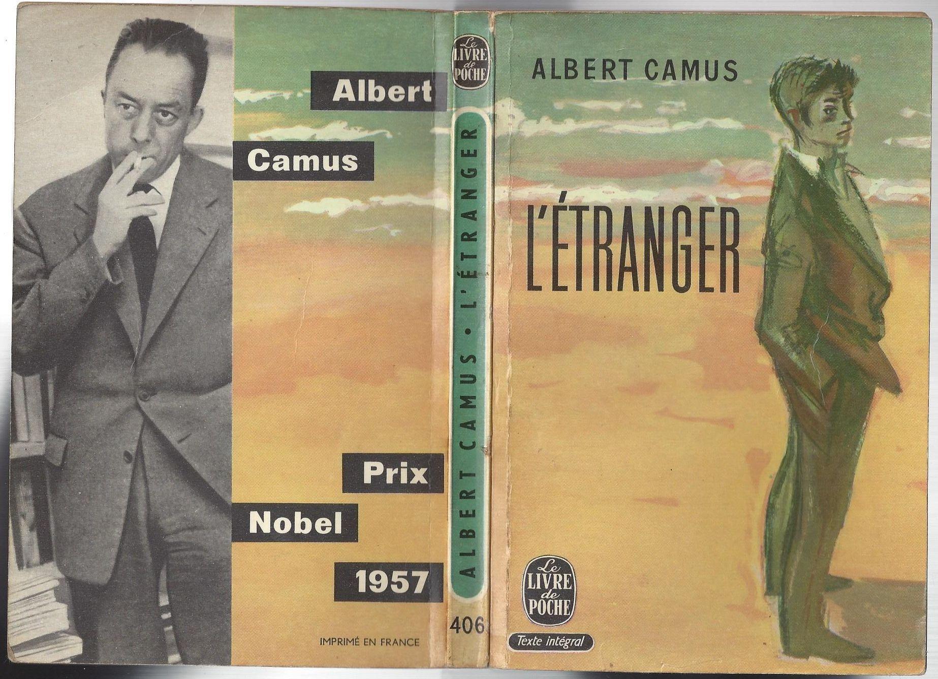 L Etranger By Albert Camus Le Livre De Poche Couverture