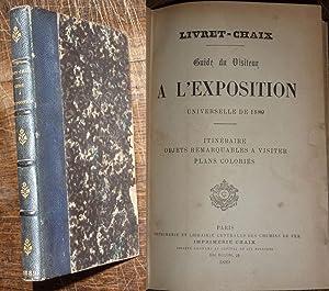 Livret-Chaix - Guide du visiteur à l'Exposition: Collectif
