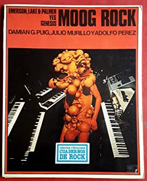 MOOG ROCK . EMERSON, LAKE & PALMER - YES - GENESIS