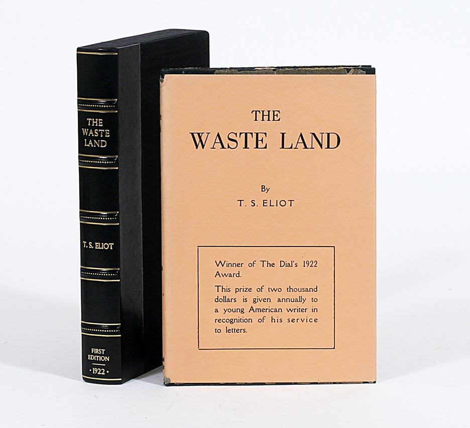eliot t s 1922 the waste land bartlebycom - 936×854