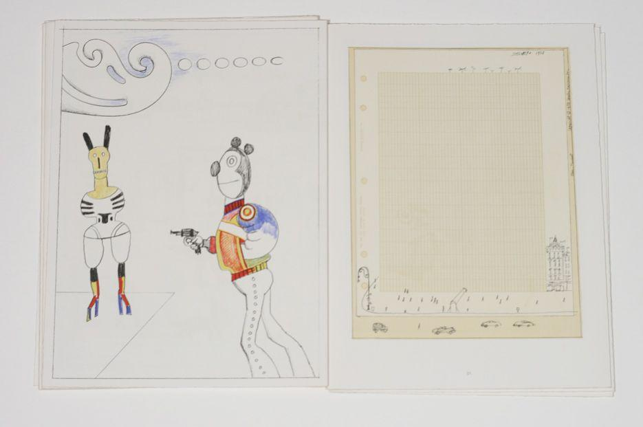 Derriere le miroir saul steinberg special number 224 by for Maeght derriere le miroir