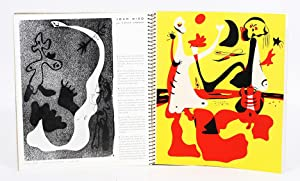 D'Aci i d'Allà [1934 Christmas Issue], Containing Figures davant el mar: MIRÓ, ...