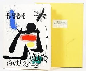 Derriére le Miroir 139/140. Céramiques Monumentales de: Miró, Joan