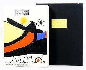 Derriére le Miroir 193/194. Peintures Sur Papier,: Miró, Joan