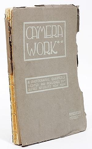 Camera Work: Issue Number 31: Stieglitz, Alfred