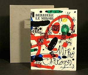 Derriere Le Miroir. Joan Miró. Peintures sur: Miro, Joan