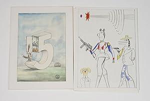 Derriere le Miroir. Saul Steinberg. Special Number 224: Steinberg, Saul