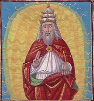 Illuminated Manuscript: Prayer to God, the Father: illuminated Manuscript]