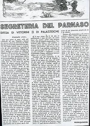 COSMOPOLITA, settimanale di vita internazionale diretto da GIULIANO BRIGANTI - 1945 - num. 04 del ...