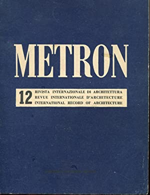 METRON rivista internazionale di architettura - 1946