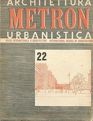 METRON rivista internazionale di architettura - 1947