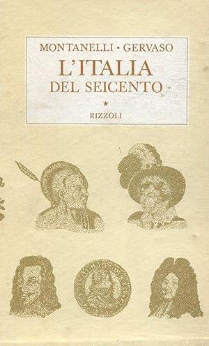 L'ITALIA DEL SEICENTO (rilegatura e cofanetto) 1600-1700,: Montanelli Indro (Fucecchio