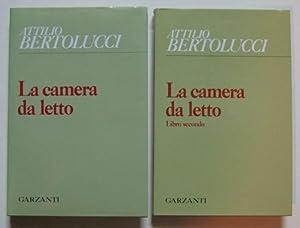 LA CAMERA DA LETTO (volume I-II), Milano, Garzanti, 1984: Bertolucci Attilio (Parma 1911-2000)