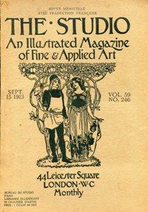 THE STUDIO - 1913-1919 - an illustrated Magazine of fine e Applied Art 11 fascicoli sciolti ., ...