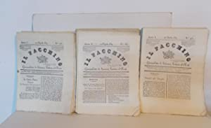 IL FACCHINO, giornaletto di scienze, lettere ed