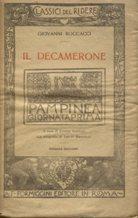 IL DECAMERONE (giornata 1a prima - PAMPINEA): Boccaccio Giovanni