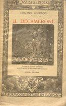 IL DECAMERONE (giornata 2a seconda - FILOMENA),: Boccaccio Giovanni