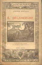 IL DECAMERONE (giornata 5a quinta - FIAMMETTA),: Boccaccio Giovanni