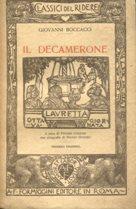 IL DECAMERONE (giornata 8a ottava - LAURETTA),: Boccaccio Giovanni