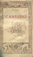 CANDIDO, Roma, Formiggini, 1926: VOLTAIRE (Francois-Marie Arouet 1694-1778)