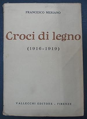 CROCI DI LEGNO (1916-1919), In questa rara: Meriano Francesco (Torino