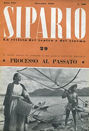 PROCESSO AL PASSATO (The searching wind) , commedia in due parti (Sul numero 29 - pag. 37-60- del...