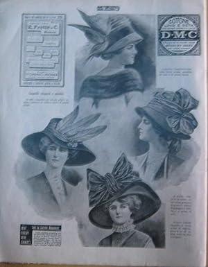 LA DONNA - rivista quindicinale - 1910 -. num. 143 del 5 dicembre 1910, TORINO, Tip. Nazional e gi?...