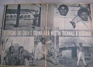 IL GOVERNO DEL GALLA E SIDAMA ALLA MOSTRA TRIENNALE D'OLTREMARE, Bergamo, Istituto Arti ...