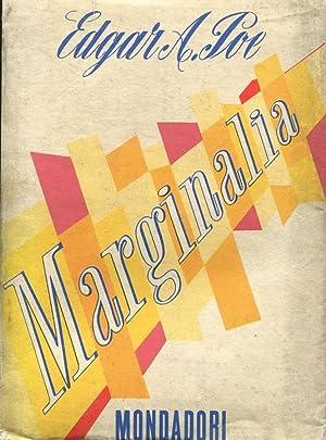 MARGINALIA, Milano, Mondadori, 1949: Poe Edgar Allan