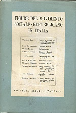 FIGURE DEL MOVIMENTO SOCIALE REPUBBLICANO IN ITALIA,: Autori vari