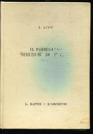 IL PARMIGIANO SERVITOR DI PIAZZA, ovvero Dialoghi: Affò Ireneo, padre