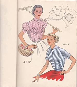 COLLECTION DES BLOUSES - ETE 1953, Vienne Austria, Editions Polychrom, 1953